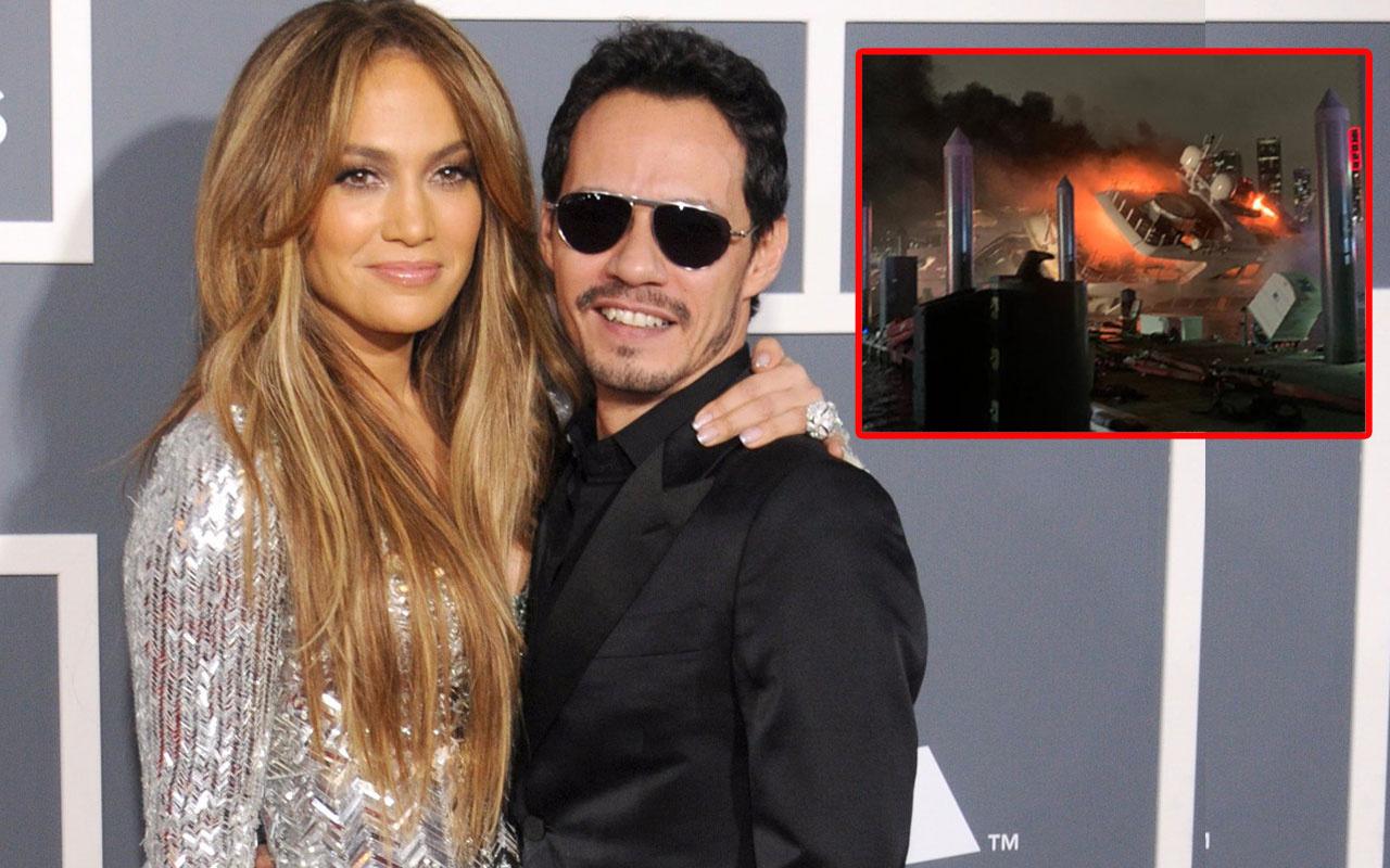Jennifer Lopez'in eski eşi Marc Anthony'nin yatı yandı milyon dolarlar denize gömüldü