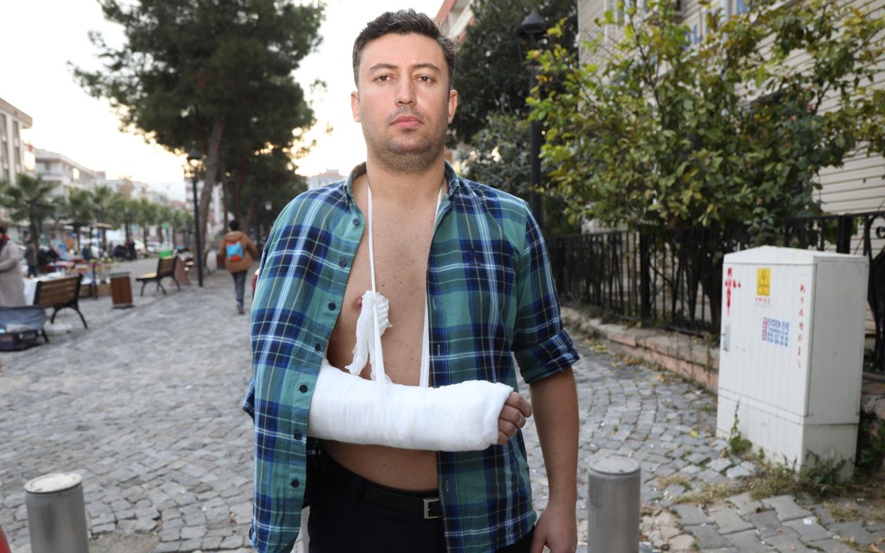 İzmir Gaziemir'de belediyenin basın çalışanlarına saldırı