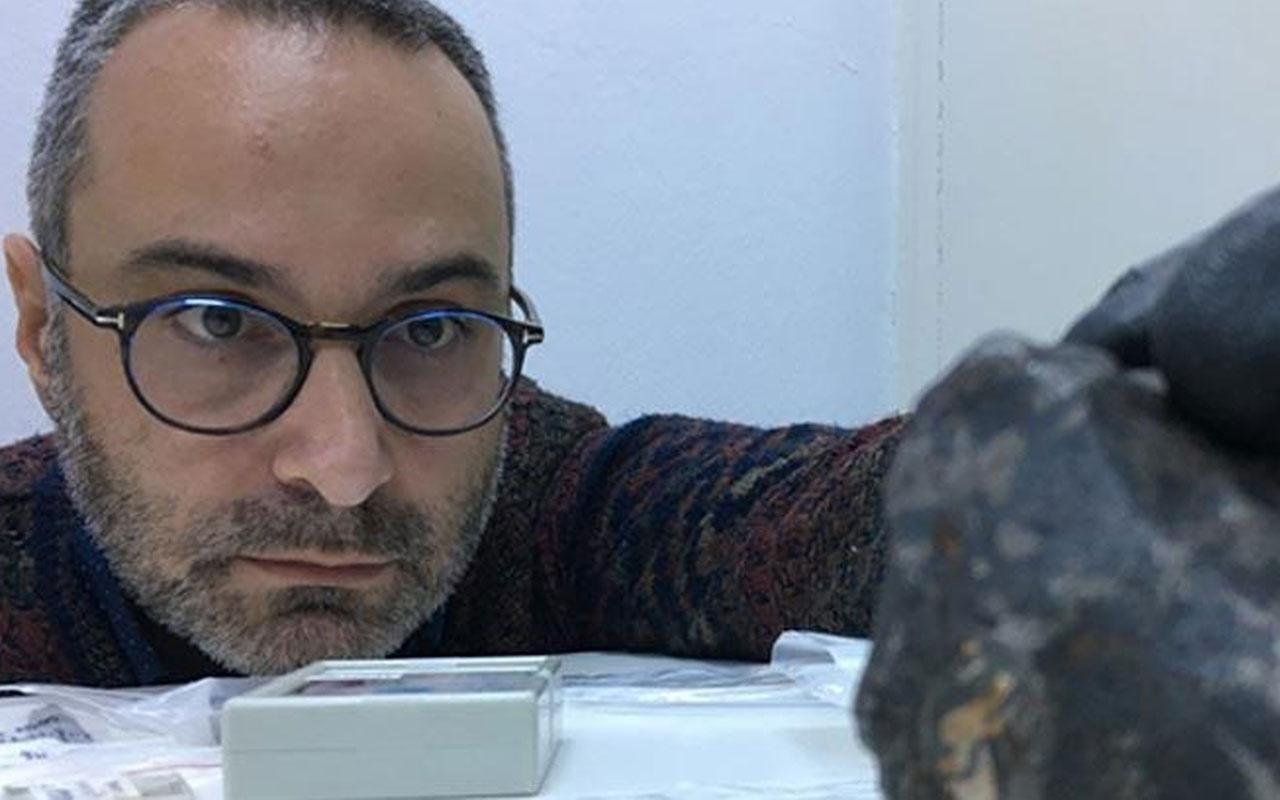 Türkiye'ye 68 kilogramlık gök taşı düştü!