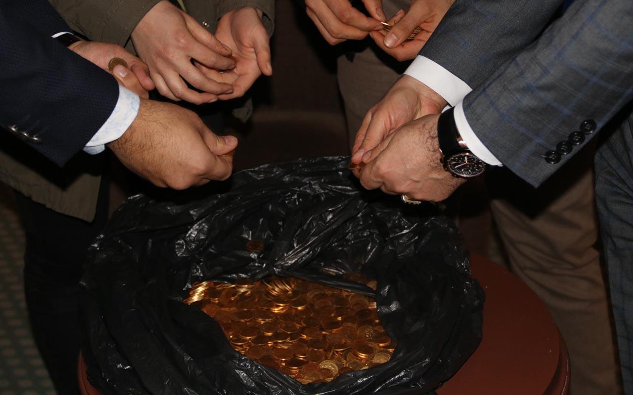 Şanlıurfa'da bir otel odasında tarihi altın para bulundu! Tam 7 kilo