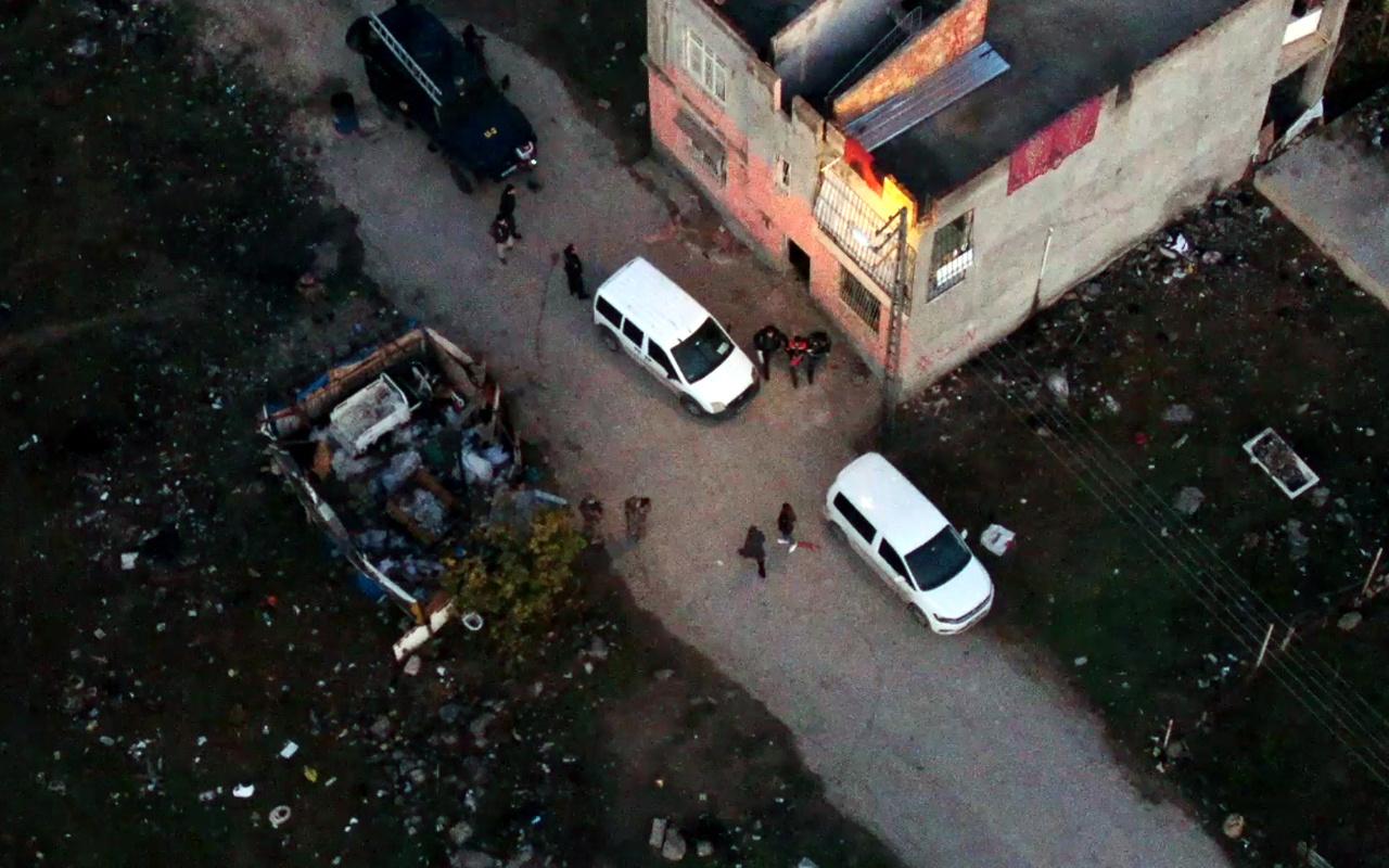 Adana'daki drone'lu uyuşturucu operasyonunda 16 tutuklama