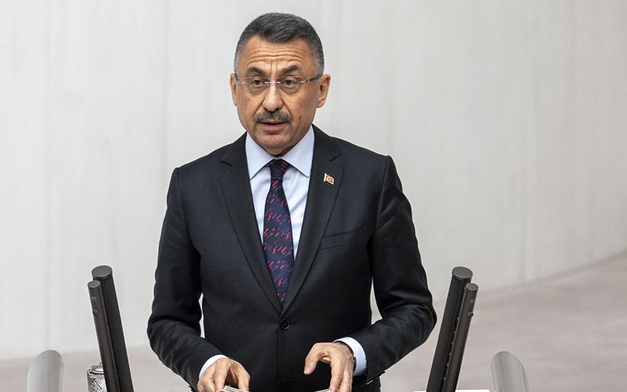 Cumhurbaşkanı Yardımcısı Fuat Oktay'dan Libya açıklaması