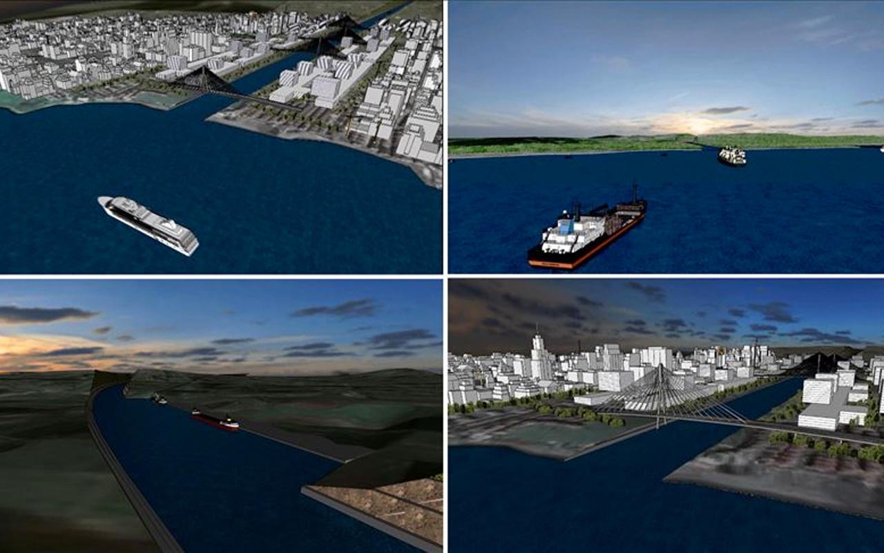Kanal İstanbul için Fransa'da laboratuvar deneyleri ve simülasyonlar gerçekleştirildi