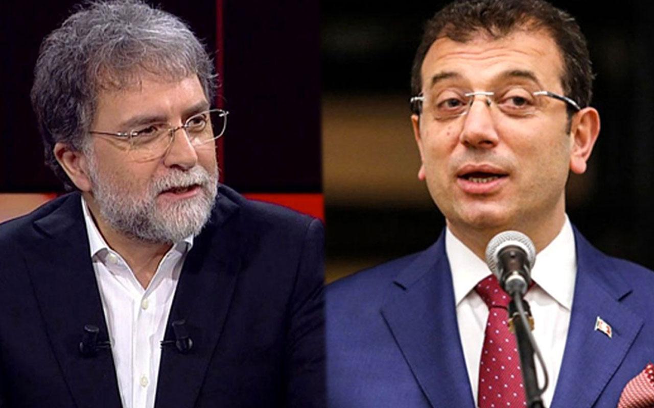 Ahmet Hakan'dan İmamoğlu'nun 'atlı fayton' açıklamasına tepki