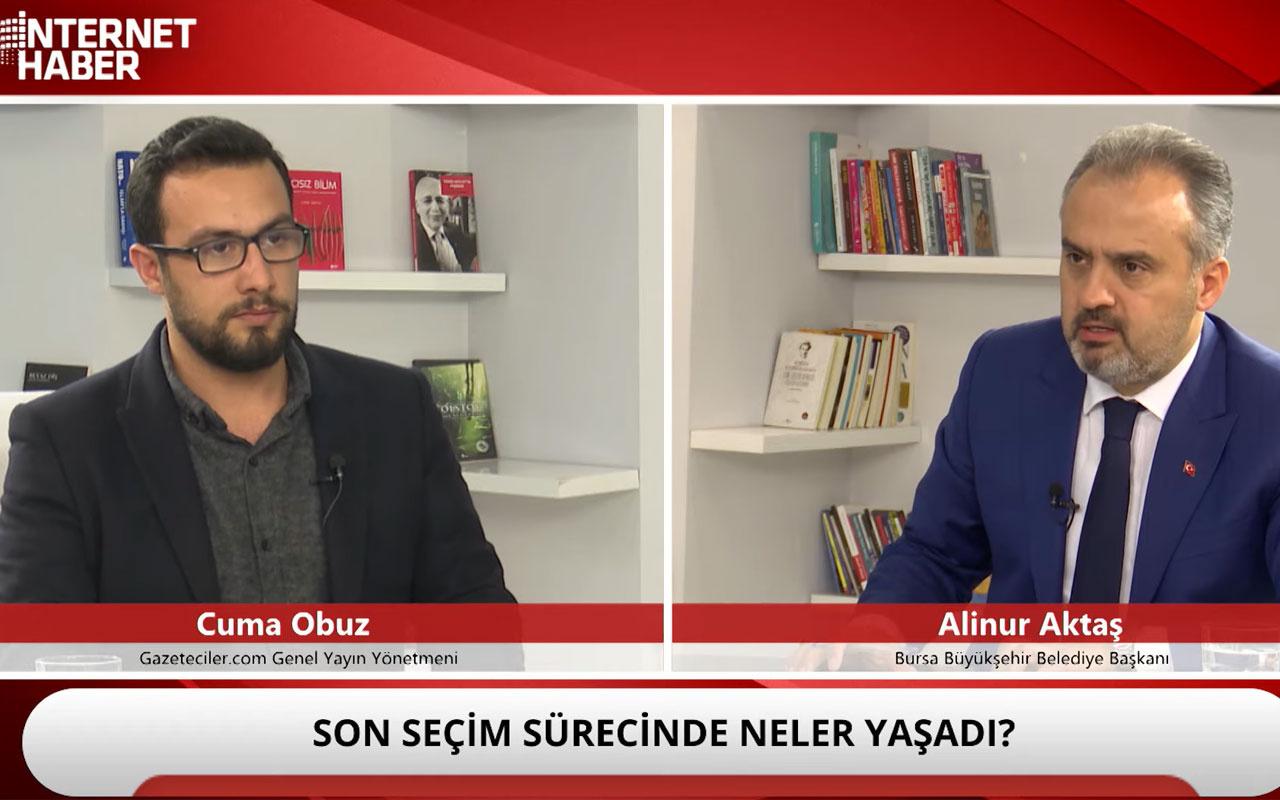 Alinur Aktaş: Ak Partili Belediyeler halka dokunabiliyor mu?