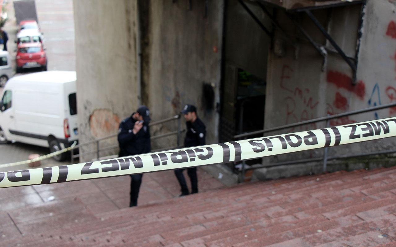 Kağıthane'de karısını vuran kişi ölü bulundu