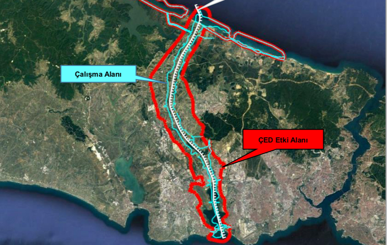 Kanal İstanbul güzergahında ne var? ÇED raporundaki haritalı projeye bakın