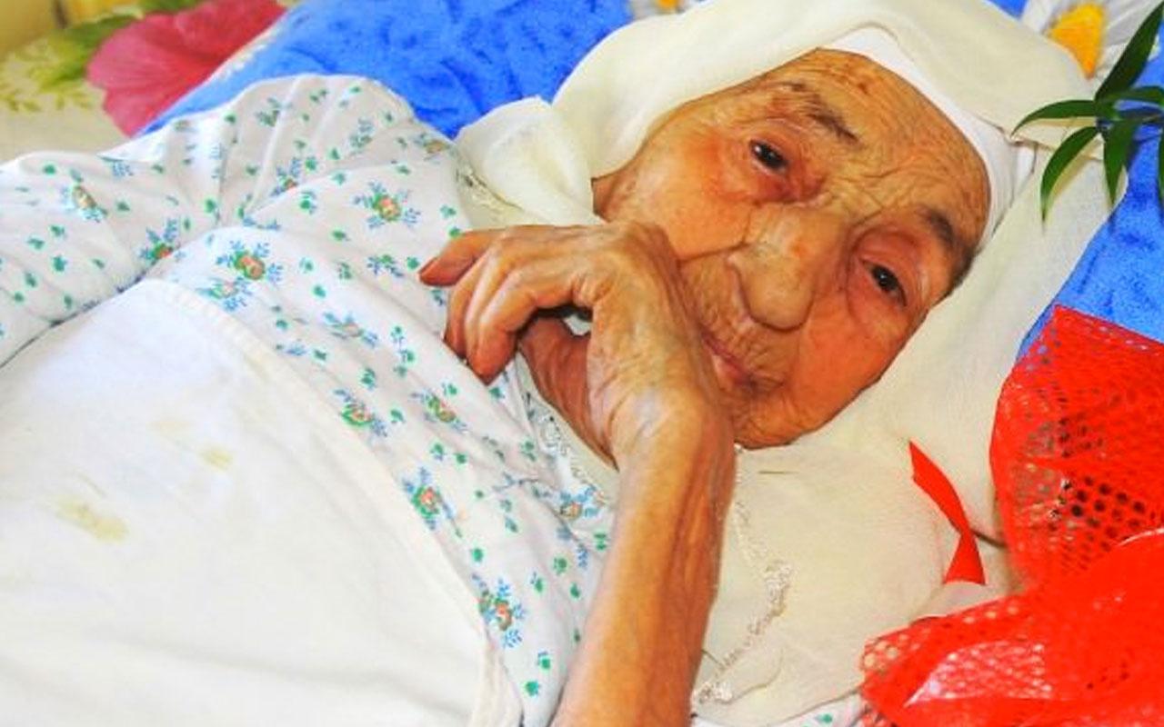 Türkiye'nin en yaşlı insanı Ayşe Uçar nine hayatını kaybetti