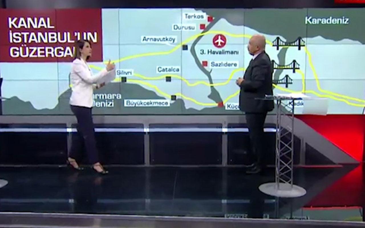 Kanal İstanbul projesinde Terkos'a tuzlu su karışacak mı? Mustafa Ilıcalı canlı yayında açıkladı