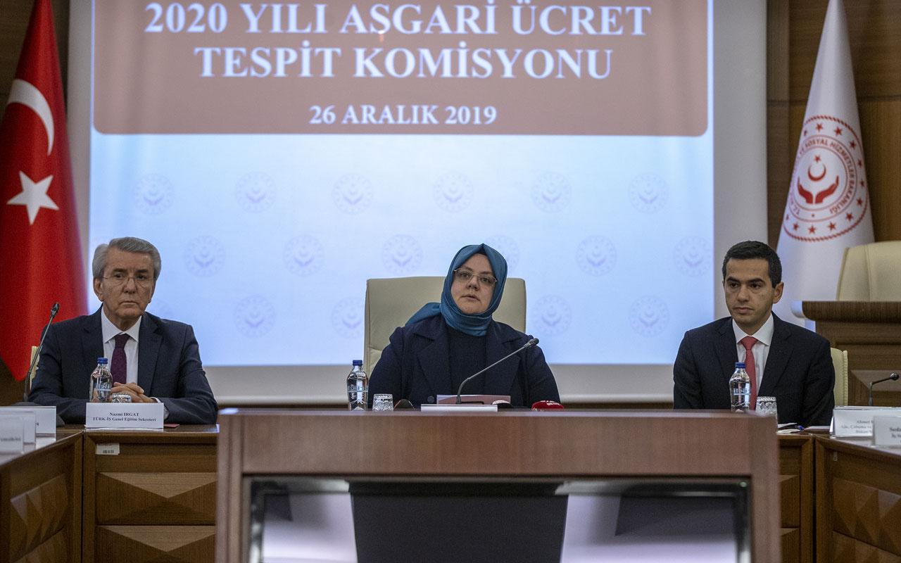 Asgari ücret ve AGİ ne kadar? 2020 Asgari ücreti zam oranı ve AGİ açıklandı