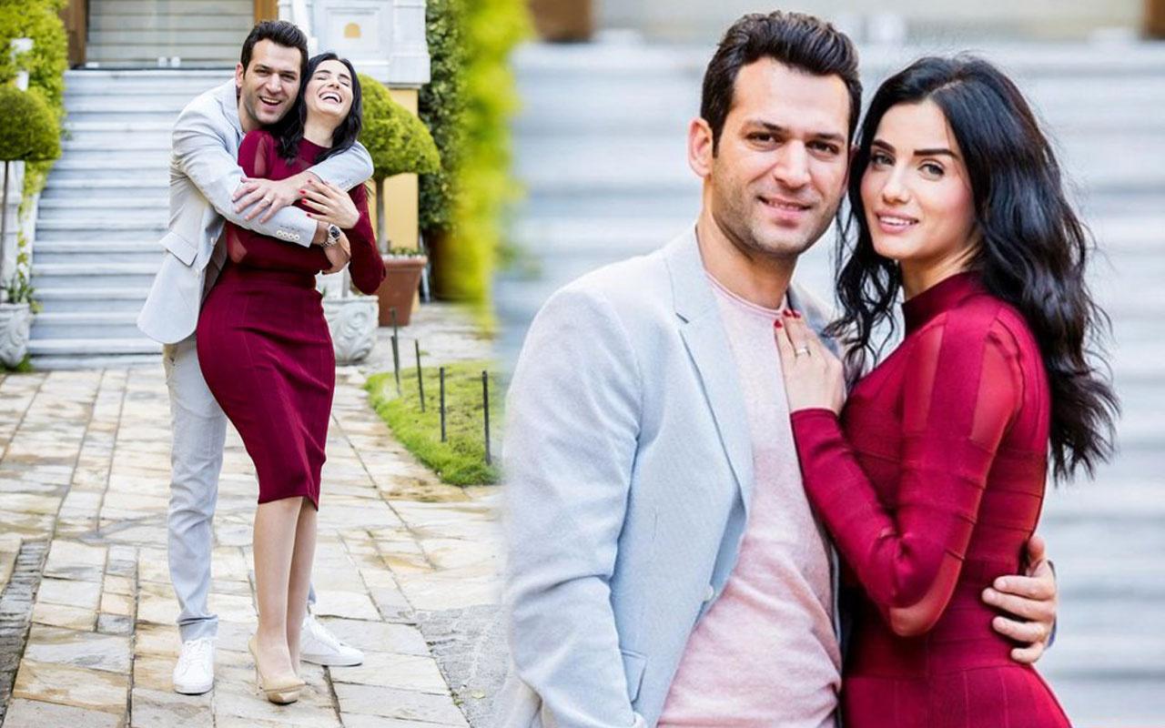 Ramo'nun başrolü Murat Yıldırım'dan eşi Iman Elbani'ye romantik kutlama