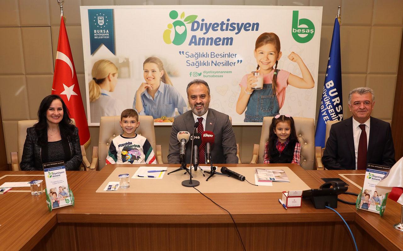 Bursa'da obeziteye karşı anneler eğitilecek
