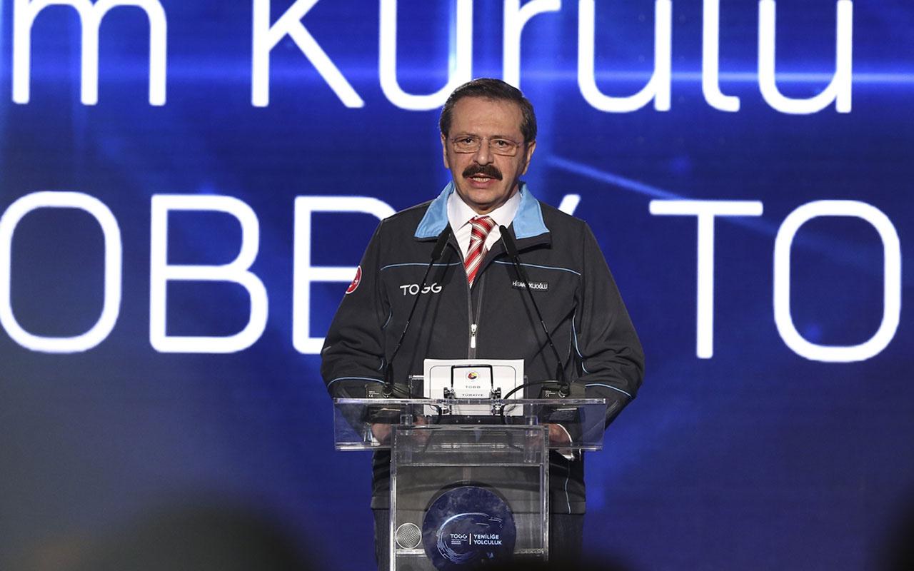 Rifat Hisarcıklıoğlu yerli otomobil tanıtımında açıkladı! İlk araç ne zaman çıkacak