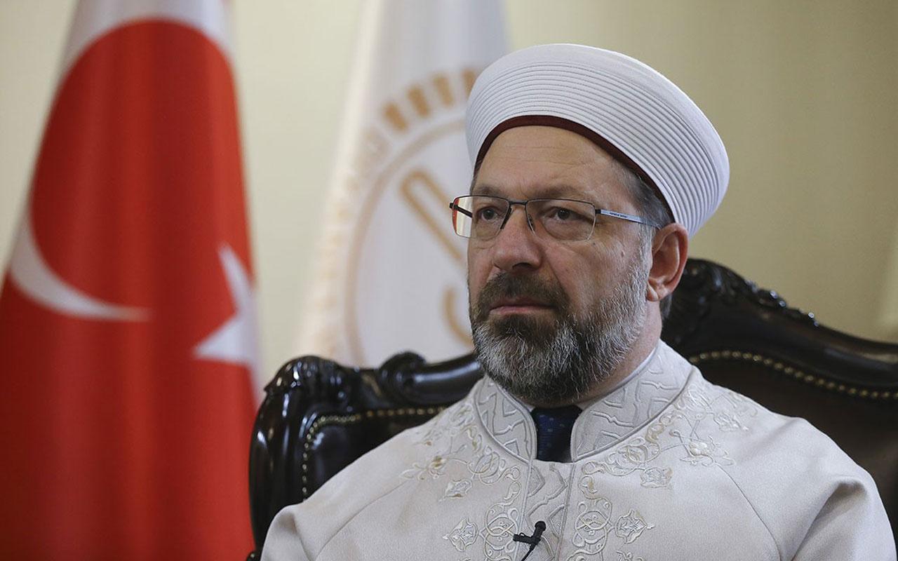Diyanet İşleri Başkanı Ali Erbaş çok net konuştu! Sigara kesin ve kati haramdır