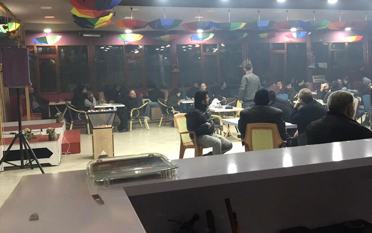 Düğün salonuna 'kumar' operasyonu: 102 gözaltı