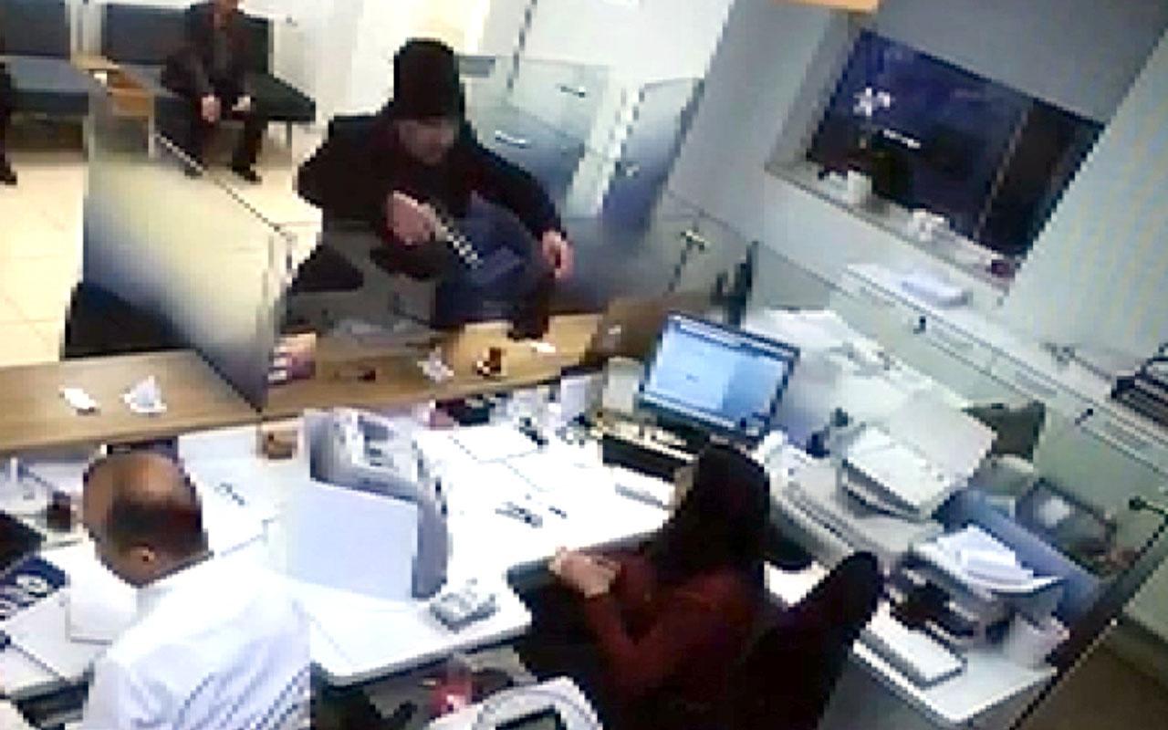Avcılar'daki oyuncak silahlı banka soygunu