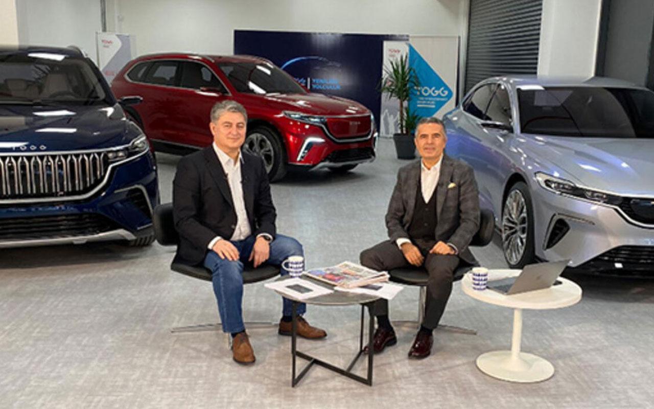 Gürcan Karakaş TOGG yerli otomobilin tasarımı ve iç dizaynını CNN TÜRK'te anlattı