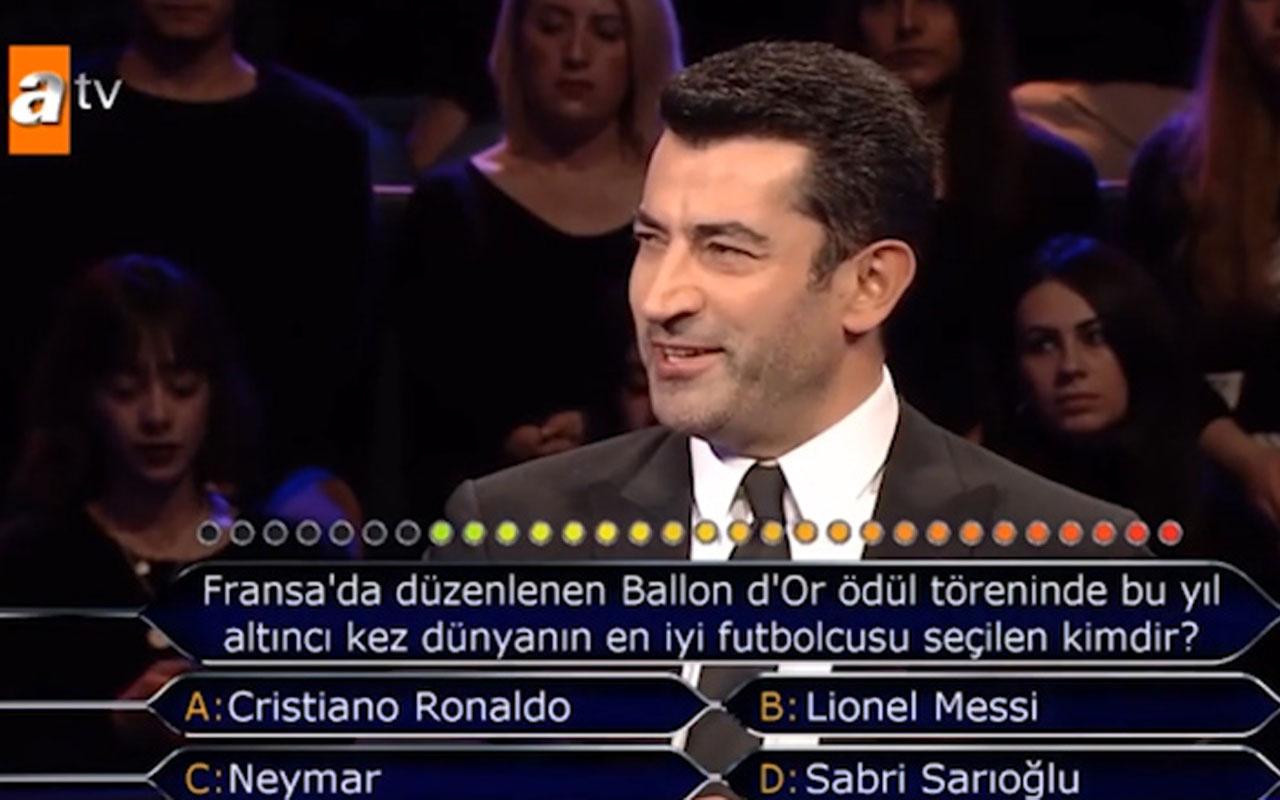 Kim Milyoner Olmak İster'e Sabri Sarıoğlu sorusu damga vurdu