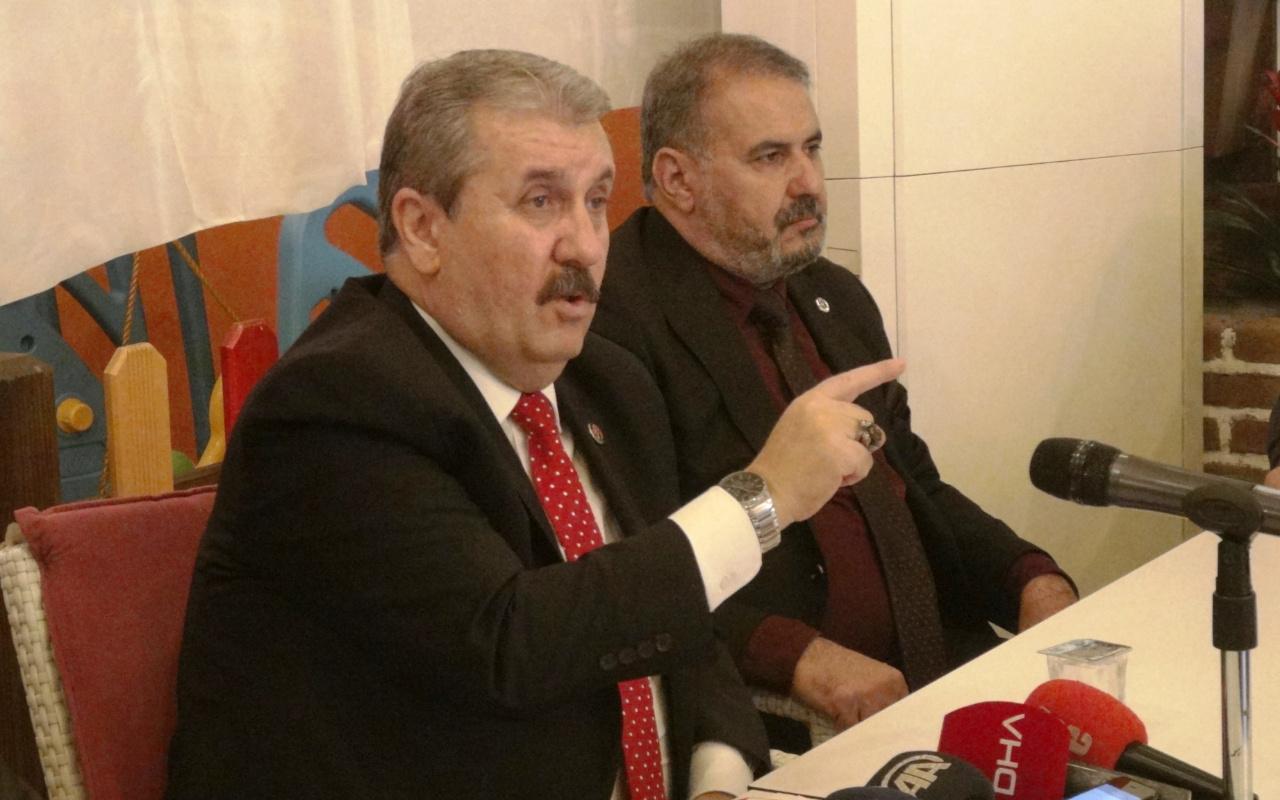 Mustafa Destici: Libya'ya asker gönderme tezkeresine 'evet' diyeceğiz