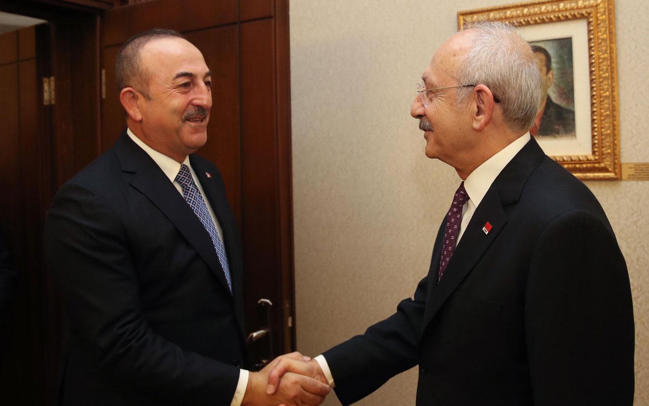 Bakan Mevlüt Çavuşoğlu'dan CHP'ye Libya tezkeresi ziyareti