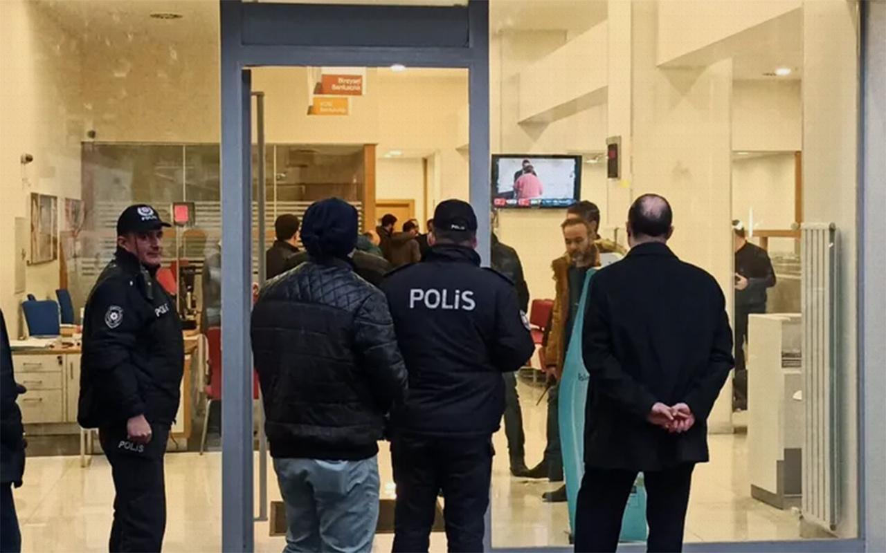 Bursa'da silahlı banka soygunu