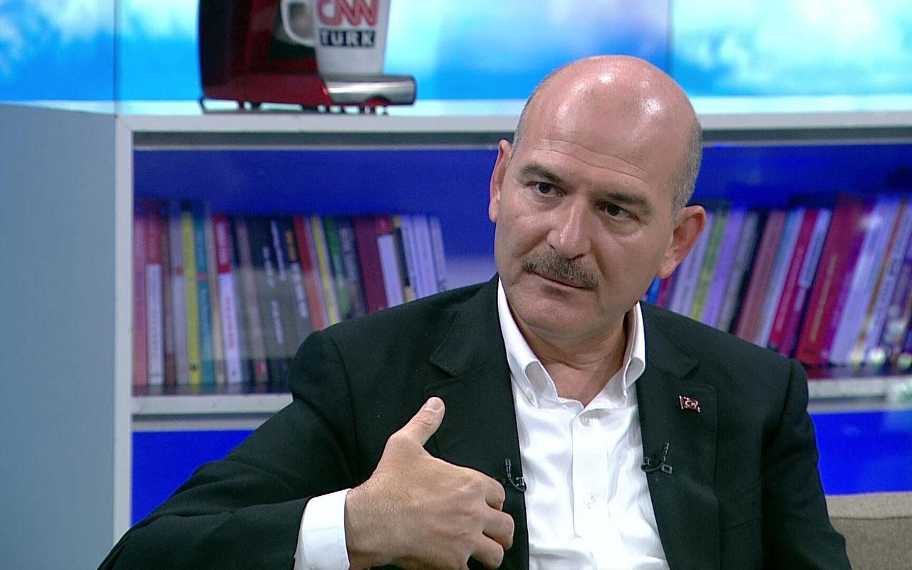 İçişleri Bakanı Soylu Yunanistan'a geçenlerle ilgili son rakamı duyurdu: 76 bin 358