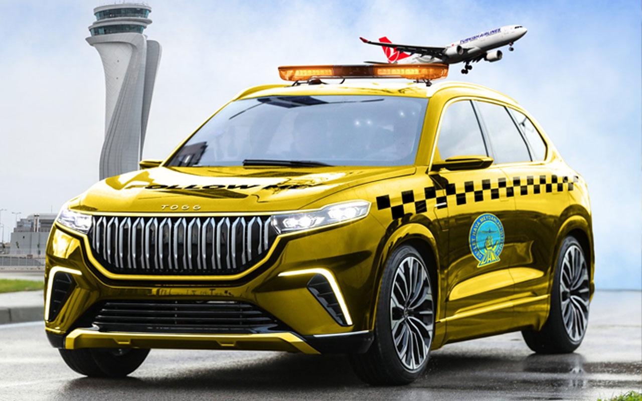 Yerli otomobil tüm havalimanlarında Follow Me aracı olarak kullanacak