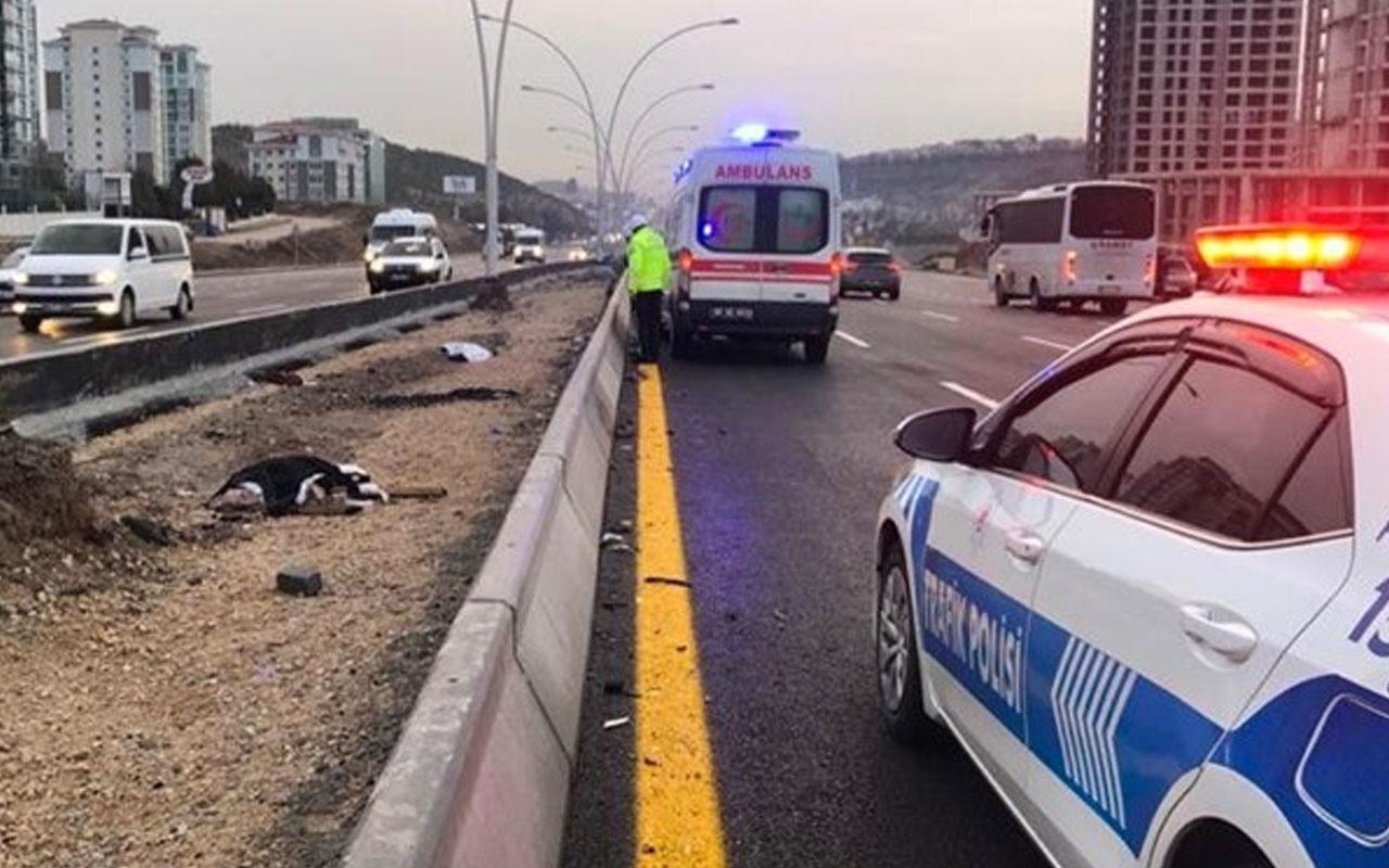 Ankara'da otomobilin çarptığı iki kadın öldü