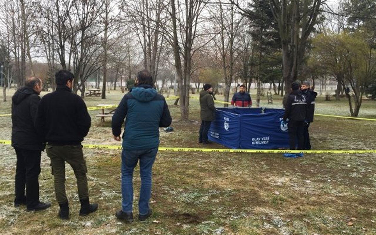 Bolu'da bir kişi parkta ölü bulundu