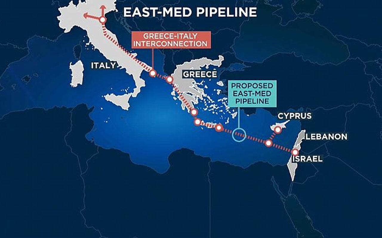 Yunanistan İsrail ve Kıbrıs'tan Türkiye karşıtı ittifak! Üçlü anlaşma imzaladılar