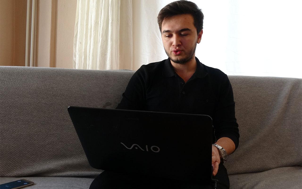 Muğlalı genç Youtuber Enes Ömer Aydoğan son 6 ayda 25 bin lira kazandı