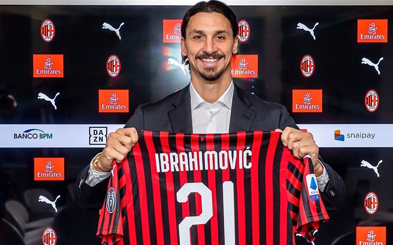 Zlatan İbrahimoviç yeniden Milan'da