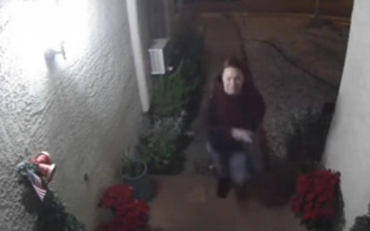 ABD'de kaçırılan kadın dehşeti yaşadı o anlar güvenlik kamerasında