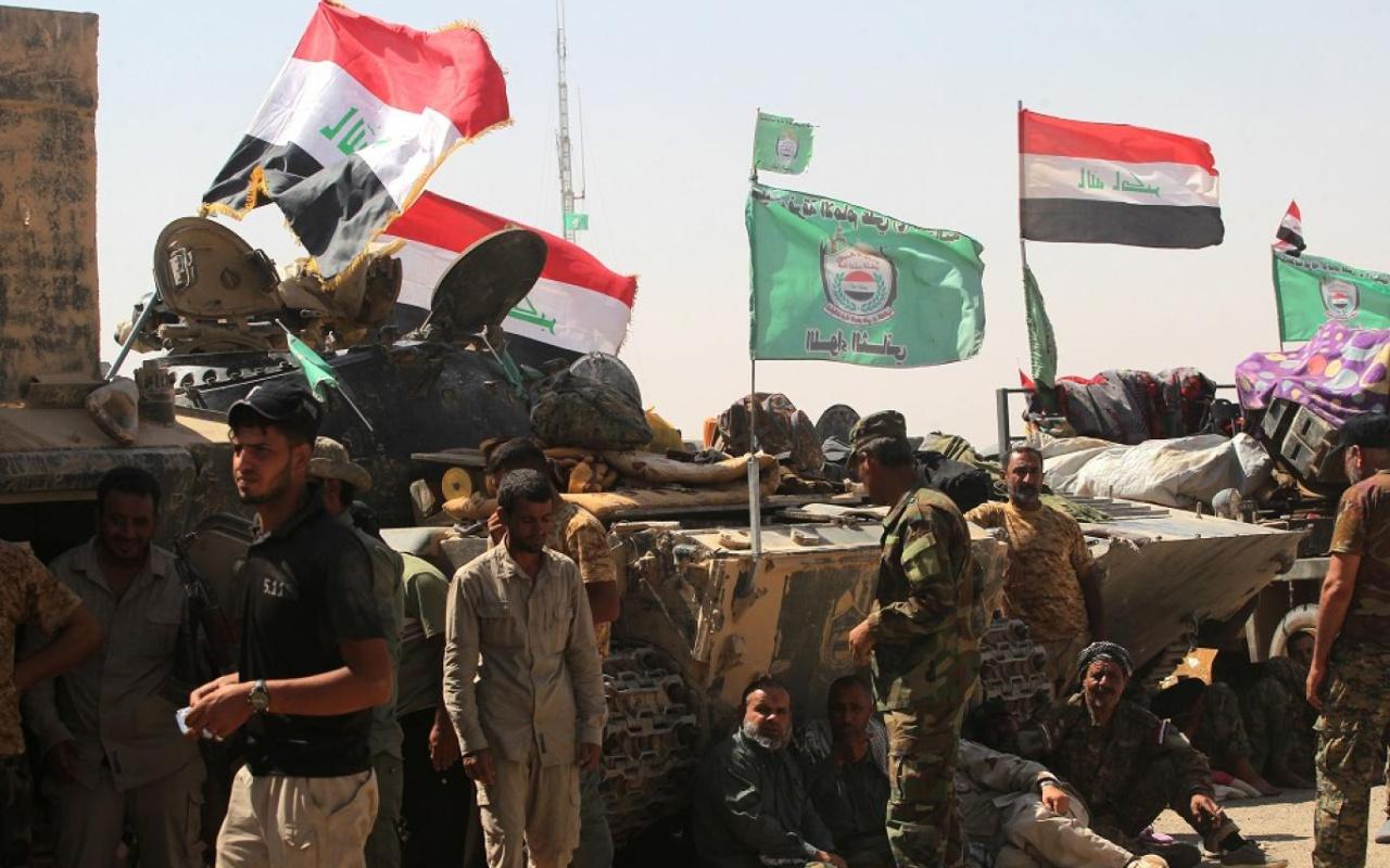 Irak'ın Zikar vilayetinde Haşdi Şabi karargahı ateşe verildi