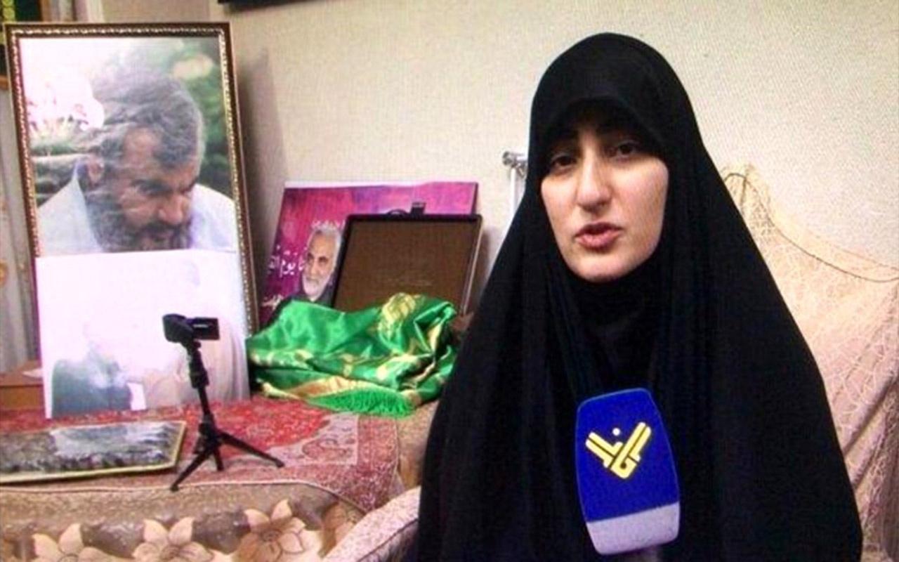 Kasım Süleymani'nin kızı Trump'a seslendi : Babama rakip olamazdın