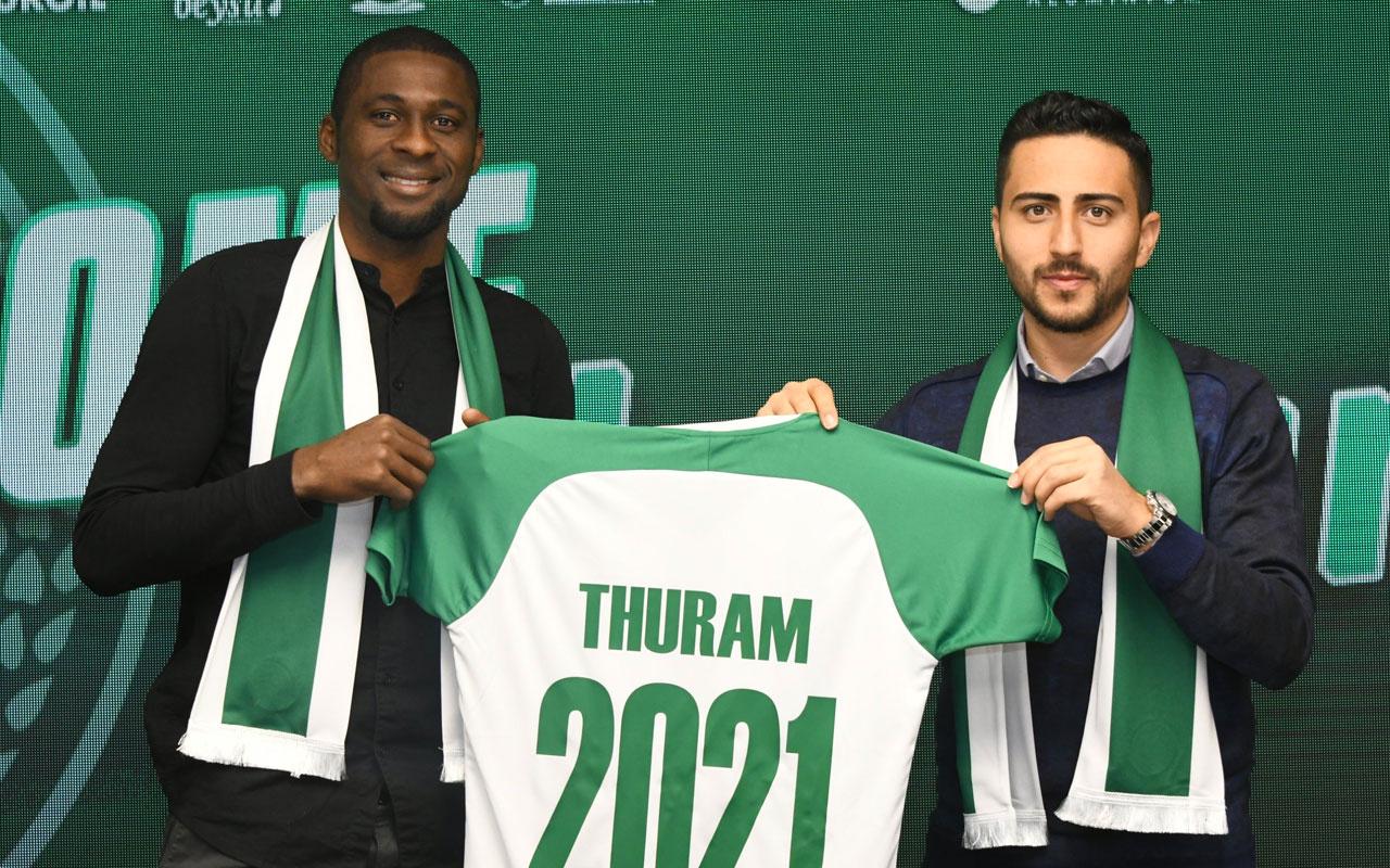 Rogerio Thuram Konyaspor'da
