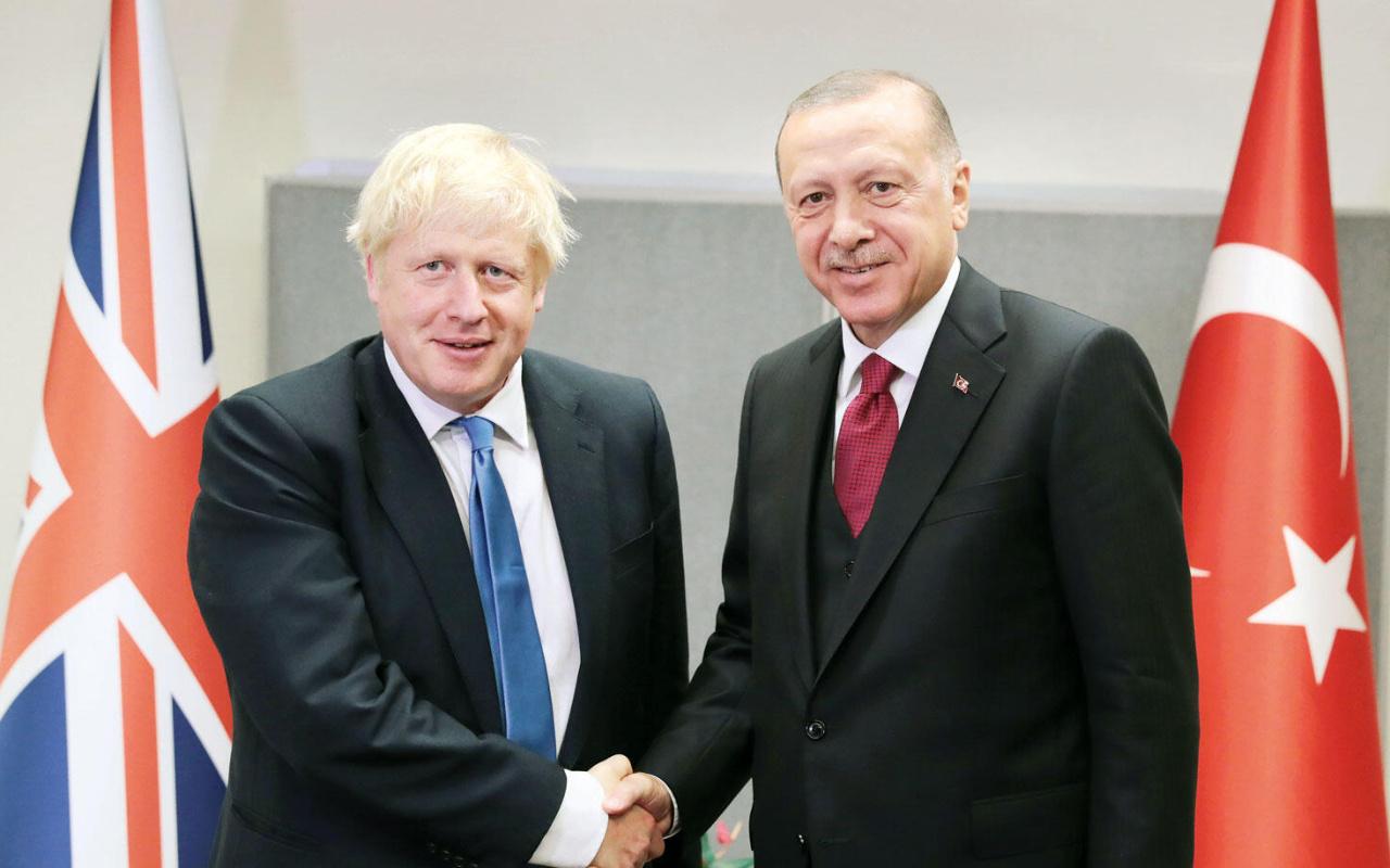 Cumhurbaşkanı Erdoğan ile Boris Johnson telefonda görüştü
