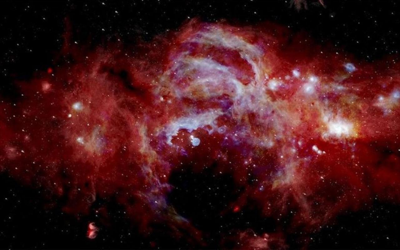 NASA Samanyolu Galaksisi'ni kayda aldı