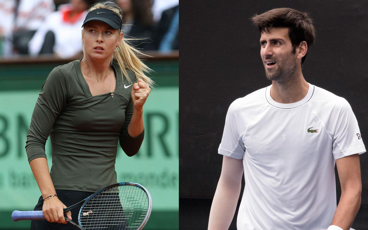 Maria Sharapova ve Novak Djokovic'ten Avustralya yangınları için örnek davranış