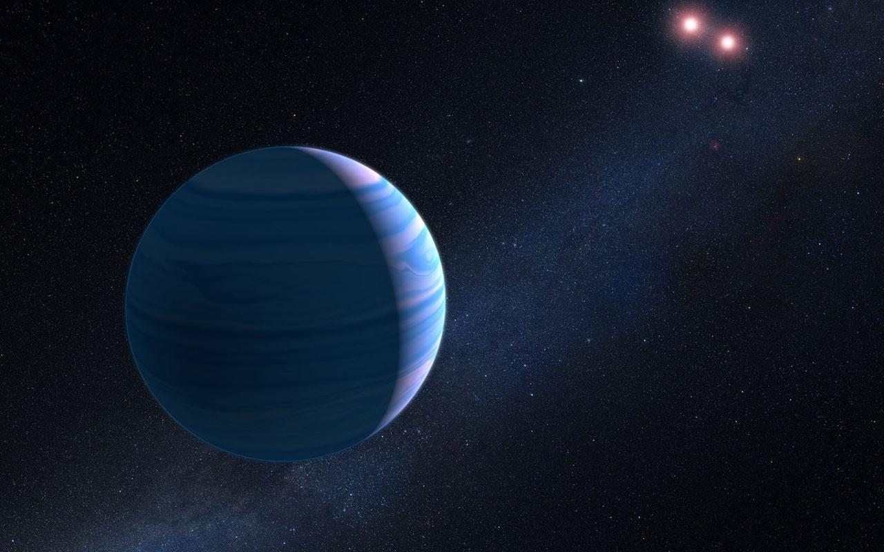 NASA iki yıldızın yörüngesinde dönen gezegen keşfetti
