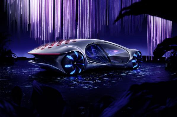 Mercedes Benz yeni modeli Vision AVTR ile adeta geleceğe götürdü!
