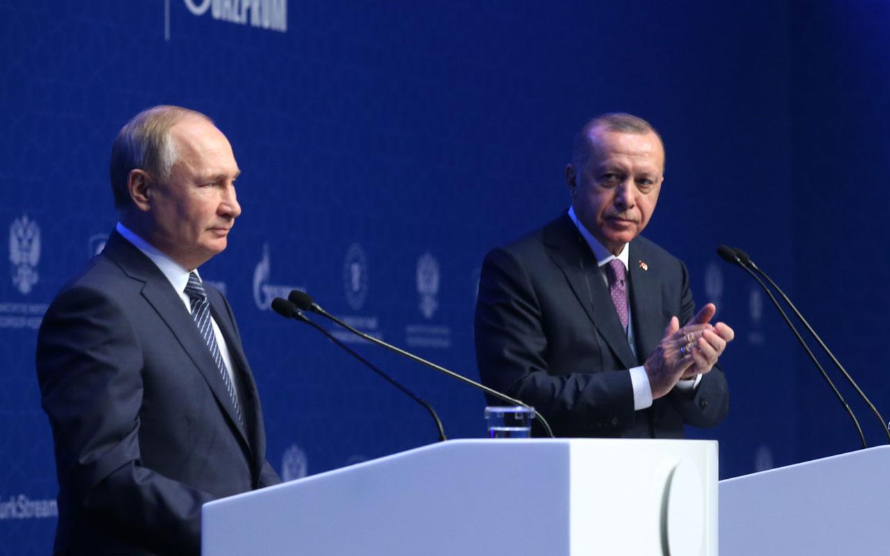 Cumhurbaşkanı Erdoğan'dan Putin'e sürpriz hediye!