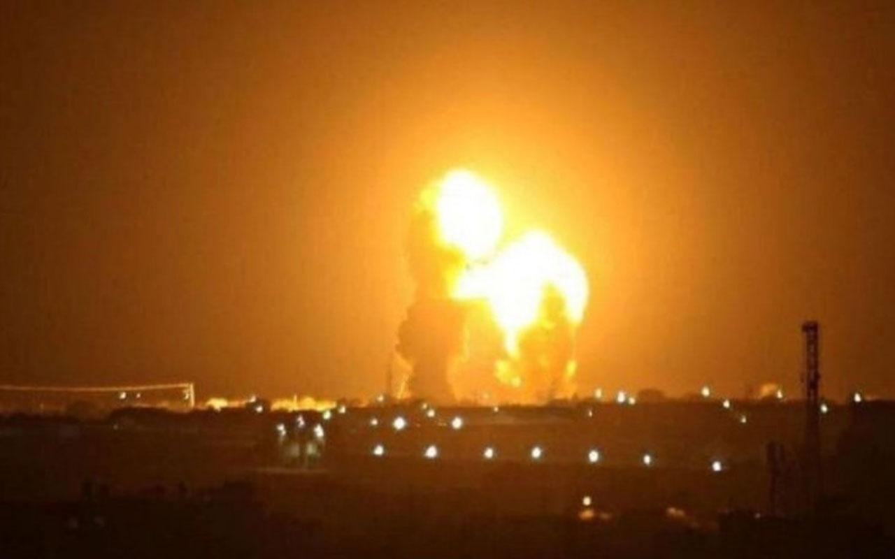 İran'ın ABD üslerini füzelerle vurma anı kamerada!