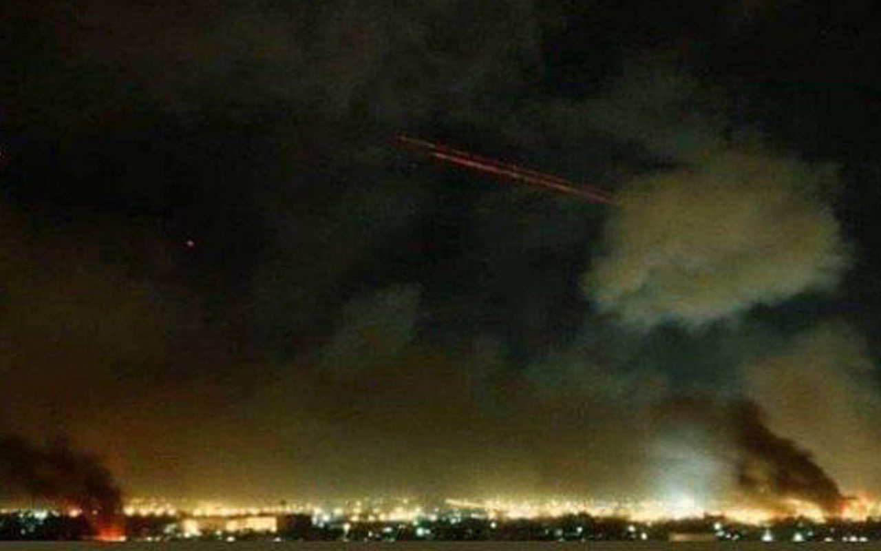 İran'dan ABD'nin Irak'taki üssüne ikinci saldırı dalgası