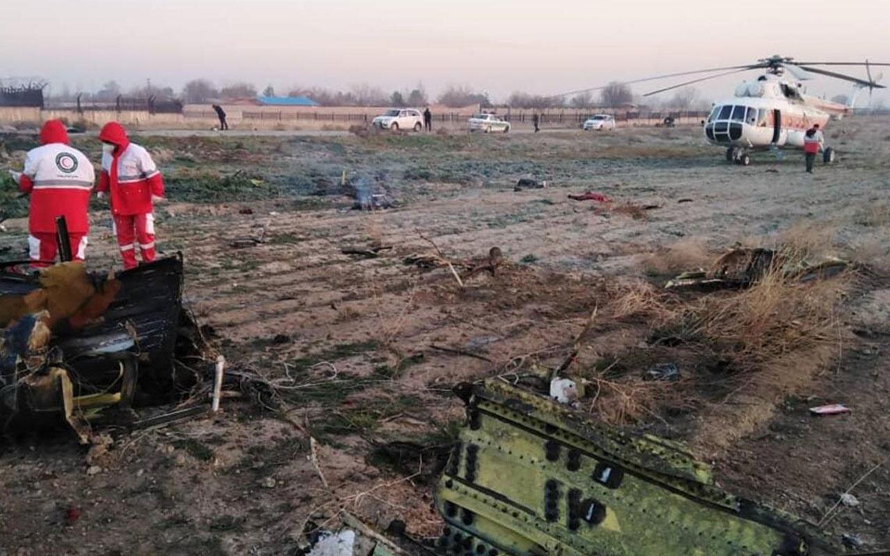 """İran'dan """"yolcu uçağı füzeyle düşürüldü"""" iddiasına yalanlama"""