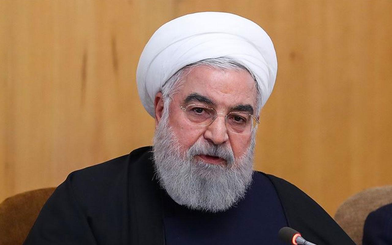 İran Cumhurbaşkanı Ruhani açık açık tehdit etti! Eğer ABD bir daha yaparsa...