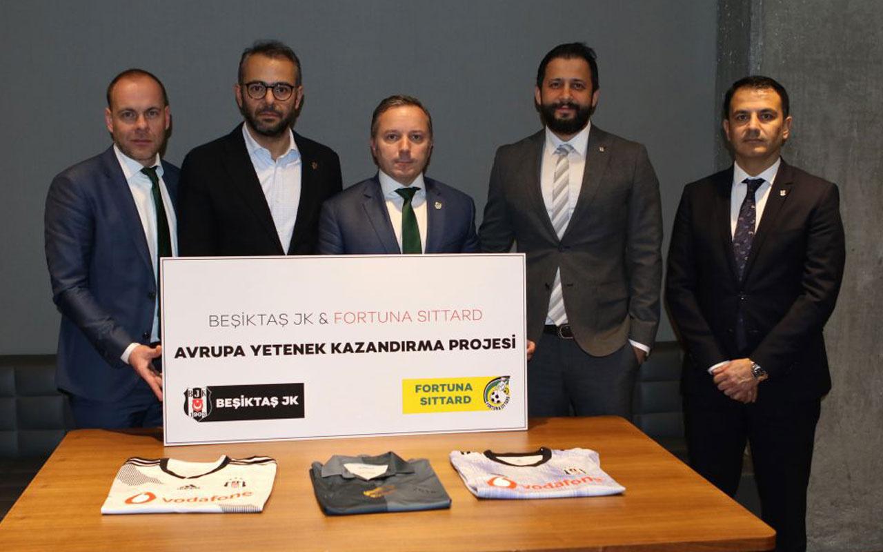 Beşiktaş'tan Hollanda kulübü ile iş birliği