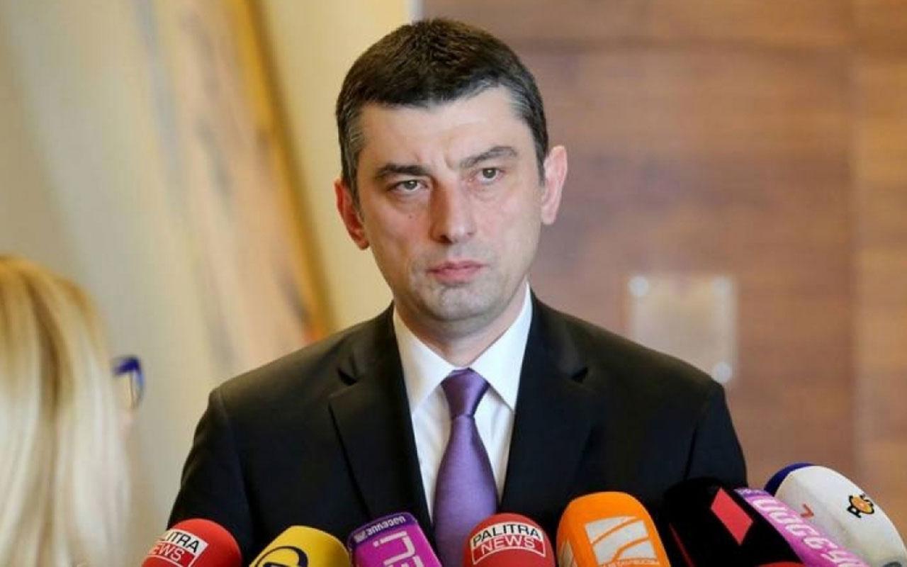 Gürcistan Başbakanı Gaharia: Uluslararası ortaklarımızla birlikte çalışıyoruz