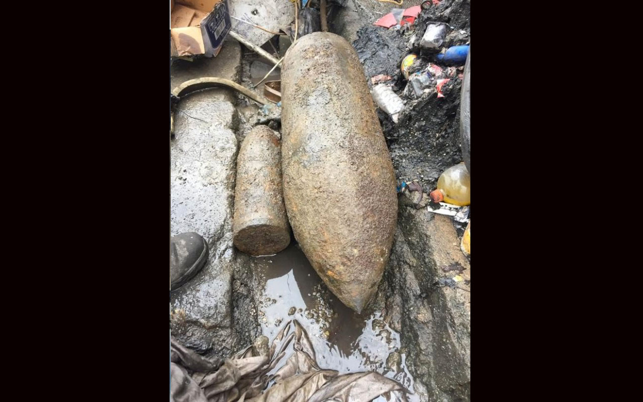 Zonguldak'ta işçiler kazıda buldukları 300 kg topu satıp kebap ziyafeti çektiler