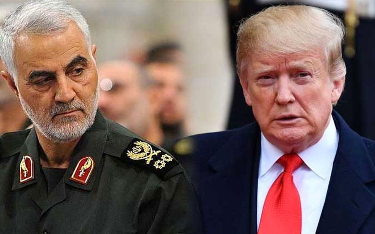 Donald Trump'tan bomba Kasım Süleyman iddiası! Havaya uçuracaktı